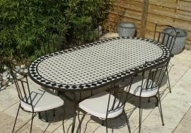 Tables mosaïque jardin de fabrication artisanale - Table Jardin Mosaïque