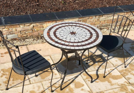 Table Mosaïque - tables de jardin discount - Table Jardin ...