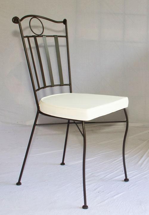 table jardin mosaique ronde 130cm terre cuite et losanges argile