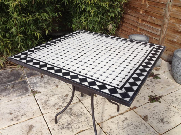 Best achat table de jardin mosaique contemporary design trends